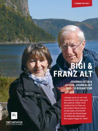 Franz und Bigi Alt, Autor, Journalist, TV-Redakteur ©Privat