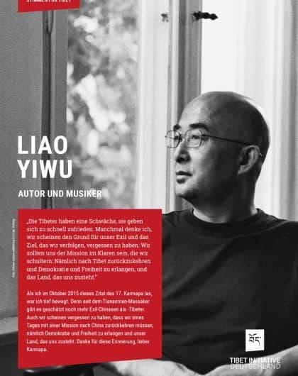 Liao Yiwu, Autor und Musiker ©Liao Zhifeng