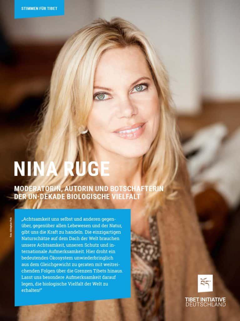 Nina Ruge, Moderatorin und Autorin ©Stephan Pick