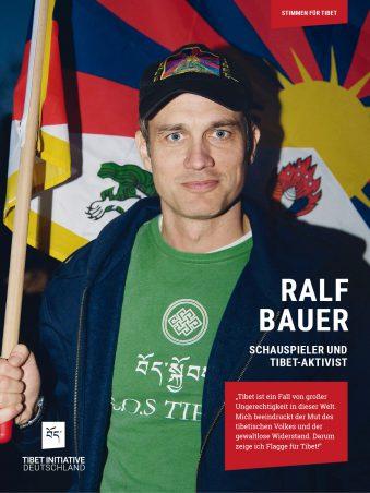 Ralf Bauer, Schauspieler ©Tibet Initiative