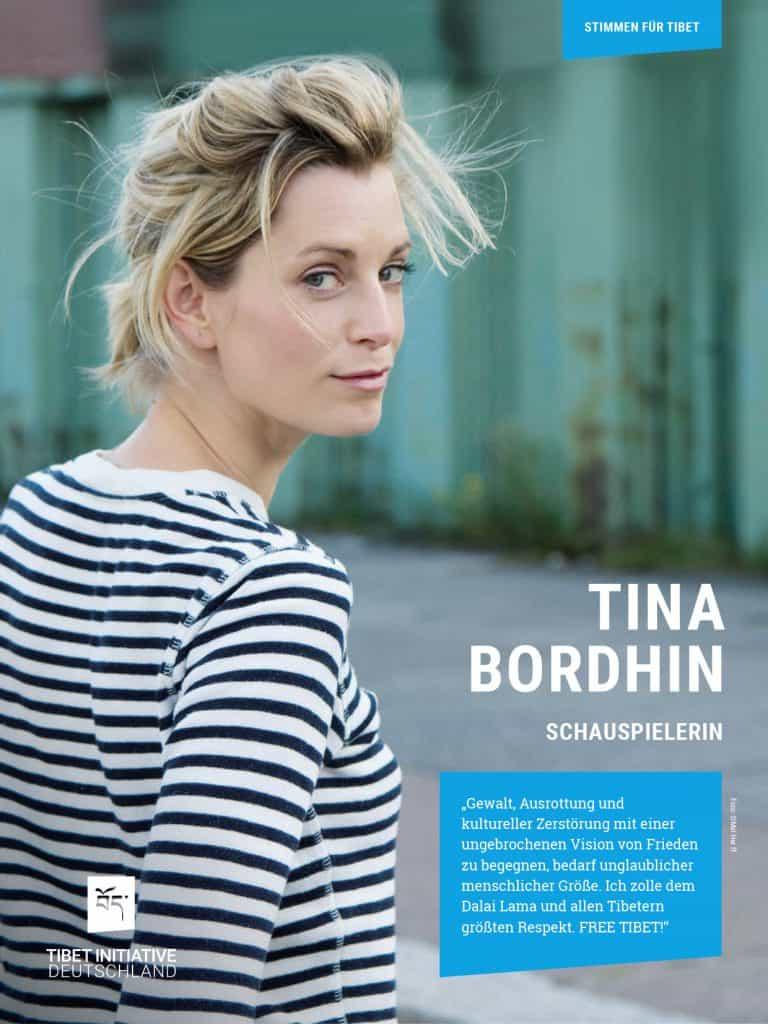 Tina Bordhin, Schauspielerin ©Mel Herff