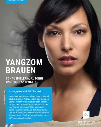 Yangzom Brauen, Schauspielerin ©Serge Hoeltschi