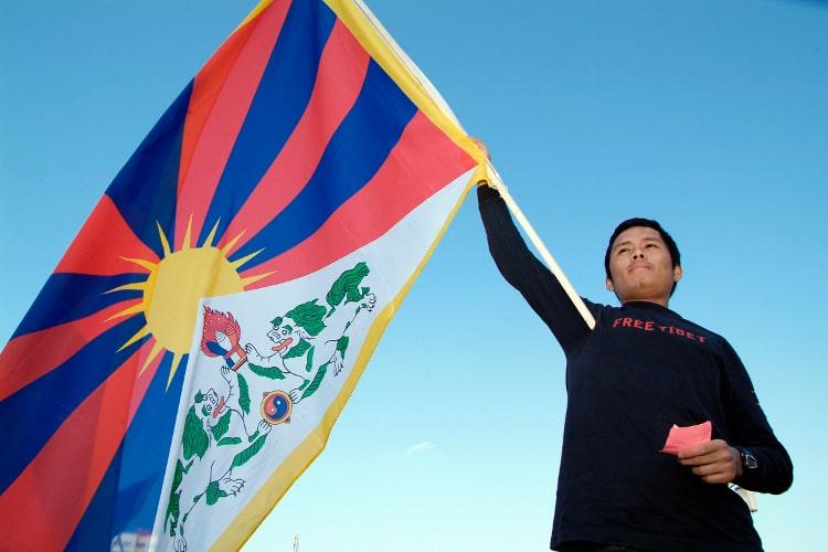 Flagge zeigen für Tibet (c)TID