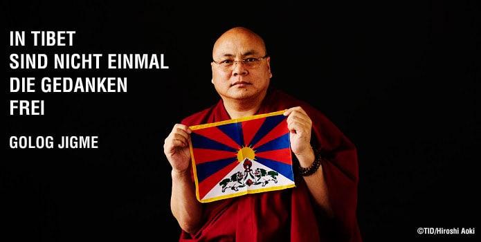 Golog Jigme - In Tibet sind nicht einmal die Gedanken frei