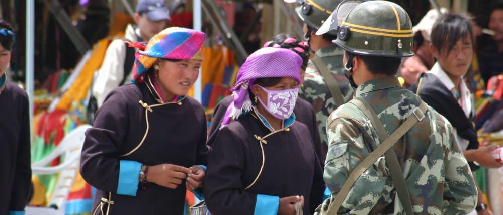 Militär in Lhasa