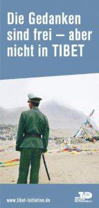Flyer Die Gedanken sind frei, aber nicht in Tibet
