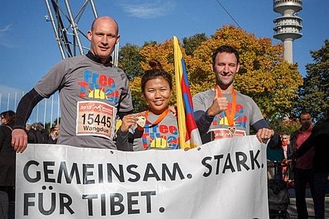 München Marathon © Robert Reisenauer/Tibet Initiative