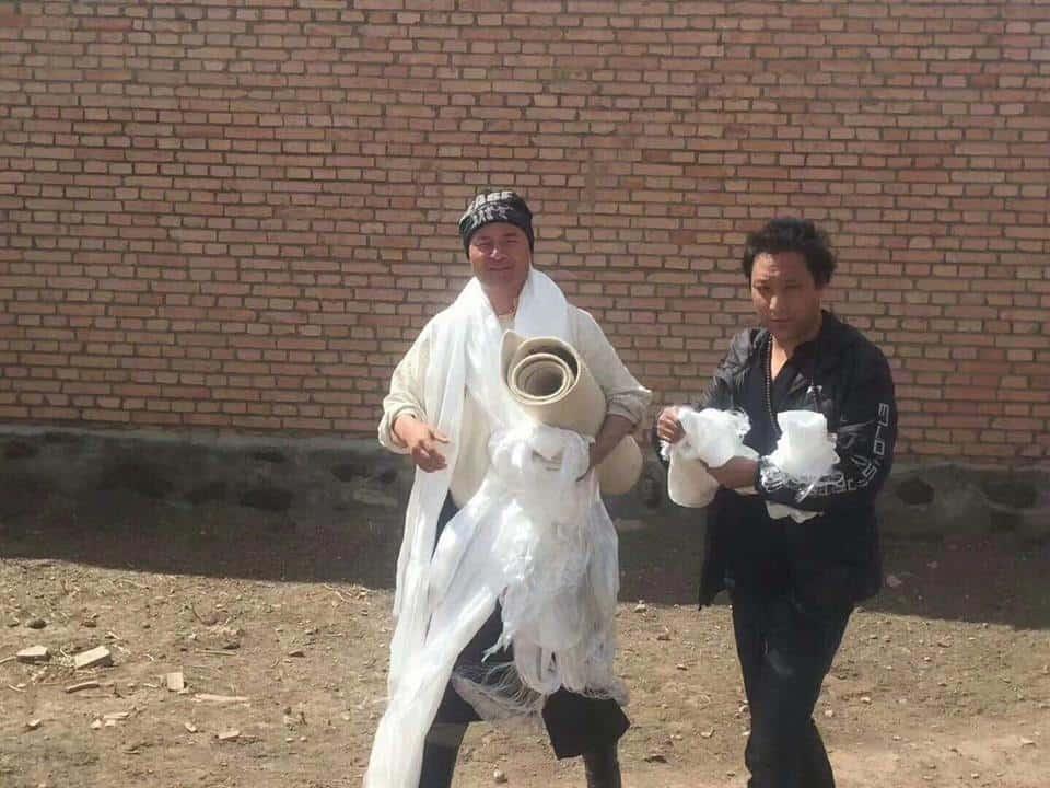 Erstes Foto von Shokjang nach seiner Entlassung