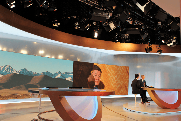 Lobsang Sangay im Interview mit der Deutschen Welle