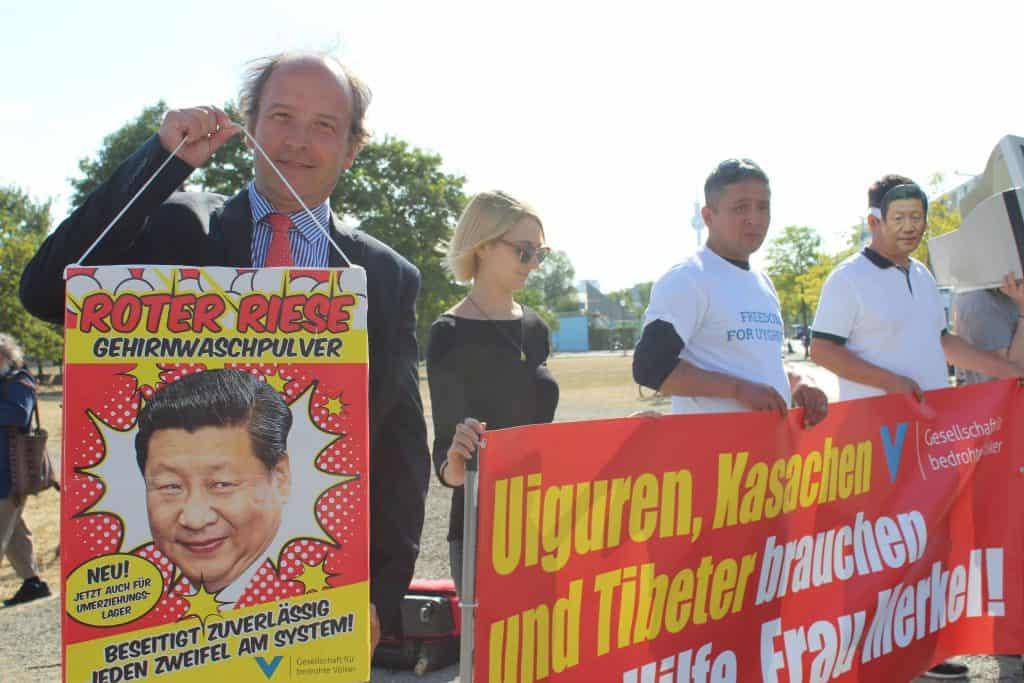 Ulrich Delius, Direktor der Gesellschaft für bedrohte Völker