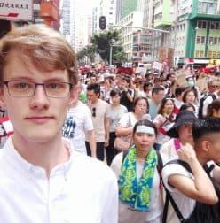 China-Experte David Missal in Hongkong