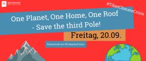 Tibet im Globalen Klimastreik Berlin (mit Fridays For Future) @ Brandenburger Tor