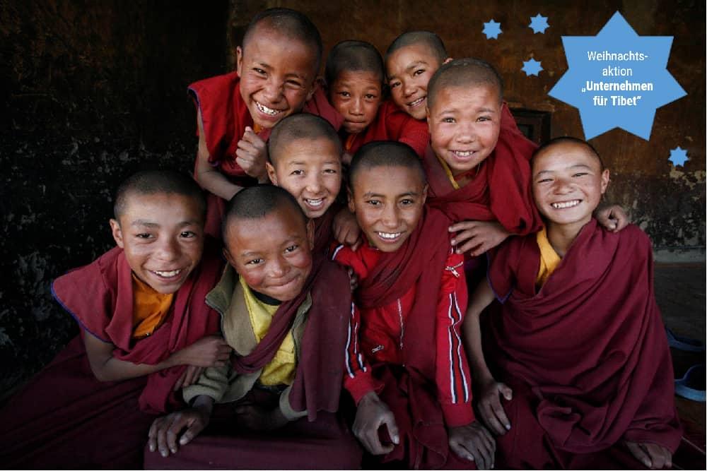 Junge Mönche in Ladakh